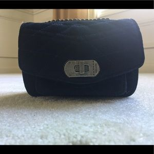 Zadig & Voltaire Quilted Navy Blue Crossbody Bag